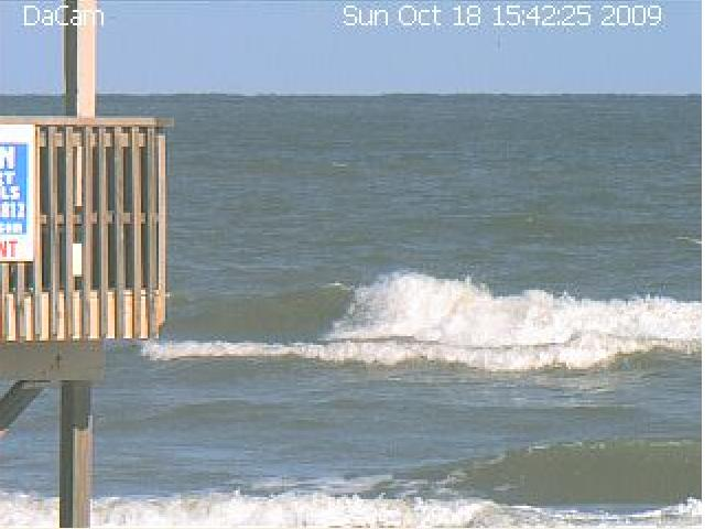 Gary's Surf Cam at Surfside Beach, Texas